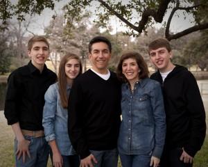 Andy Harmon family