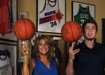 Nancy Lieberman scores our VIP (Very Inspiring Parent) Award