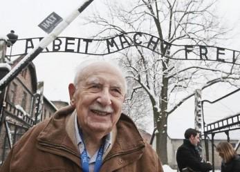 Survivors visit Auschwitz