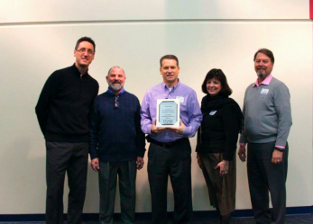 Chris Hahn Receives Distinguished Administrator Award