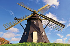 Windmill in Denmark.