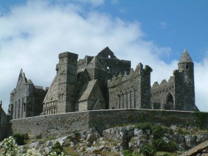 Rock of Cashel in Ireland.