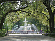 Forsyth Park in Savannah, Georgia.