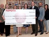School Board Recognizes Toyota for $1,000,000 Donation to Academy Programs