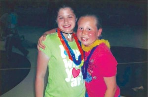 Sydney and Lindsay began their friendship in elementary school.
