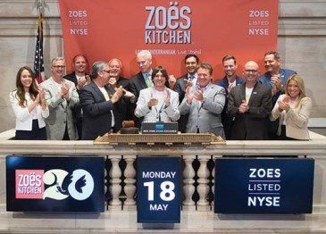 Zoes Kitchen Rings the NYSE Closing Bell