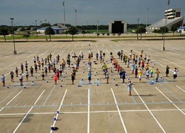 McMillen High School Band starts early to get ready for 2015 marching season