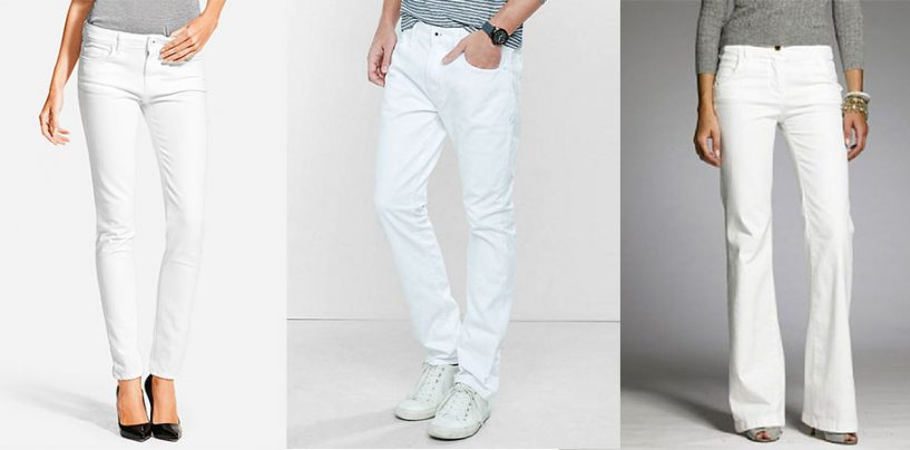 White Jeans After Labor Day? You Bet Ya!