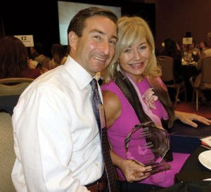 "Ashlee and Chris Kleinert (Aug. 25, 2015). Ashlee is honored as one of Dallas Business Journal's top ""25 Most Influential, Inspirational and Charitable Women in DFW""."