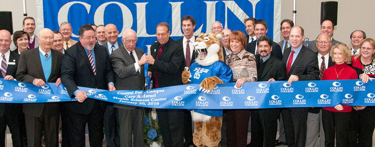 Collin College Opens New Health Sciences Center Honoring Dr. Cary Israel