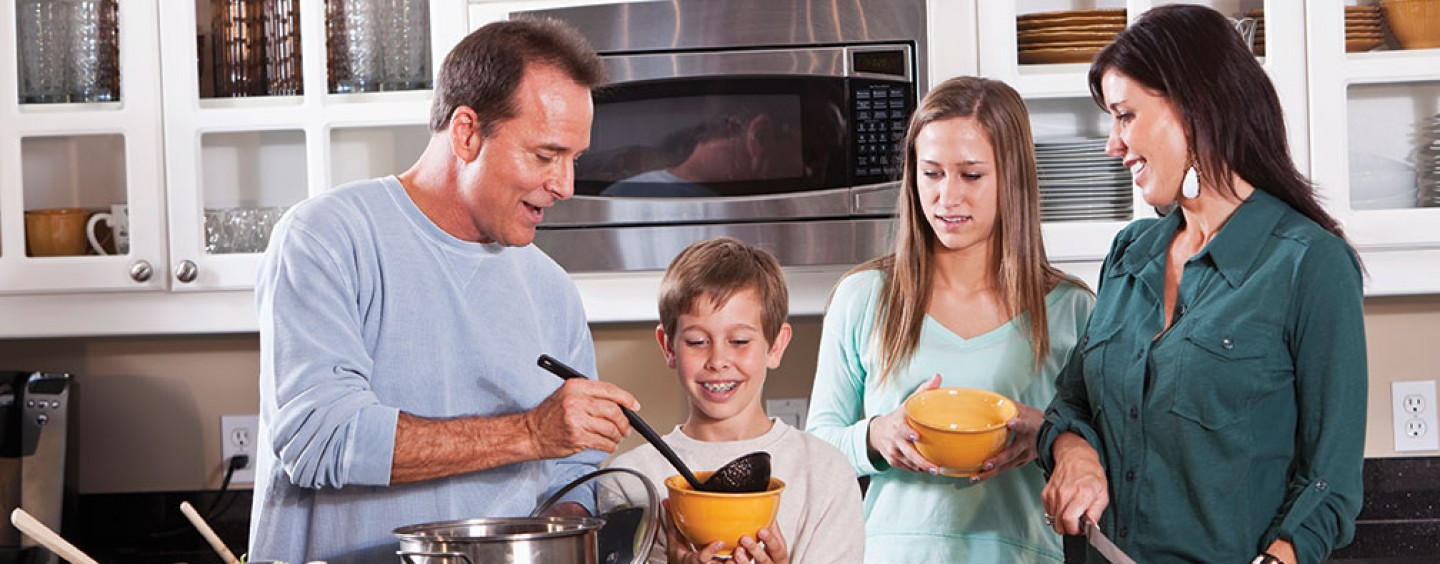 Family Dinners: Cooking Together