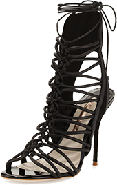 Sophia Webster lacey lace-up gladiator