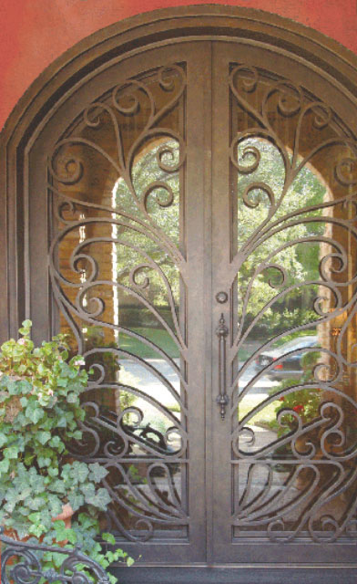 """The amazing thing is when we replace the door, it's an immediate update."" - Rosa Velasco-Klinghoffer, owner, San Miguel Ironworks"