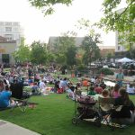 Concerts by the Creek at Watters Creek on Saturdays throughout the summer.