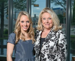Ambassador Jeanne Phillips with daughter Maggie