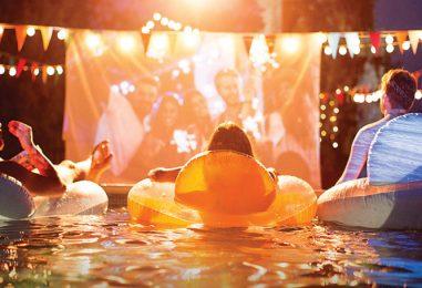 Pool Movie Nights at Home