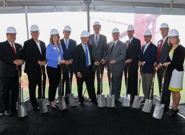 Hall Group Groundbreaking Celebration