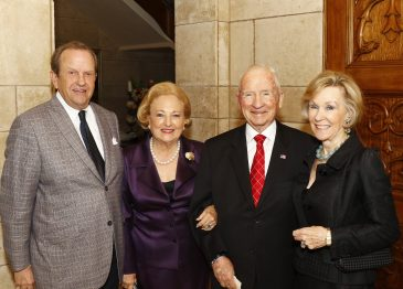 "The Caroline Rose Hunt Society Dinner is a ""Family"" Affair"