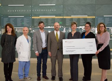 SONS OF THE FLAG CREATES ENDOWMENT TO ENHANCE BURN CARE AT PARKLAND MEMORIAL HOSPITAL