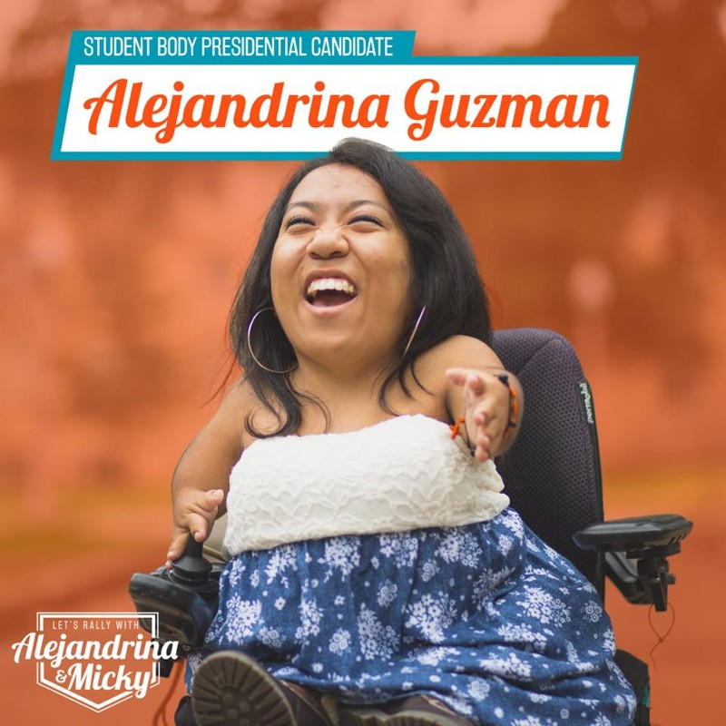 UT elects first Latina, physically disabled student president - Good Life Family Magazine  UT elects first...