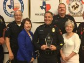 "Officer Christopher Bianez Recognized as 2017 ""Outstanding Crime Prevention Specialist"""