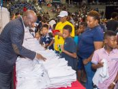 Pat & Emmitt Smith Charities, Dallas ISD and JCPenney Host Back to School Shopping Experience for Thousands of Underserved Kids in Dallas