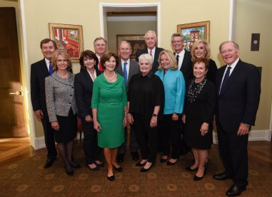 Methodist Health System Folsom Leadership Award Patron Party