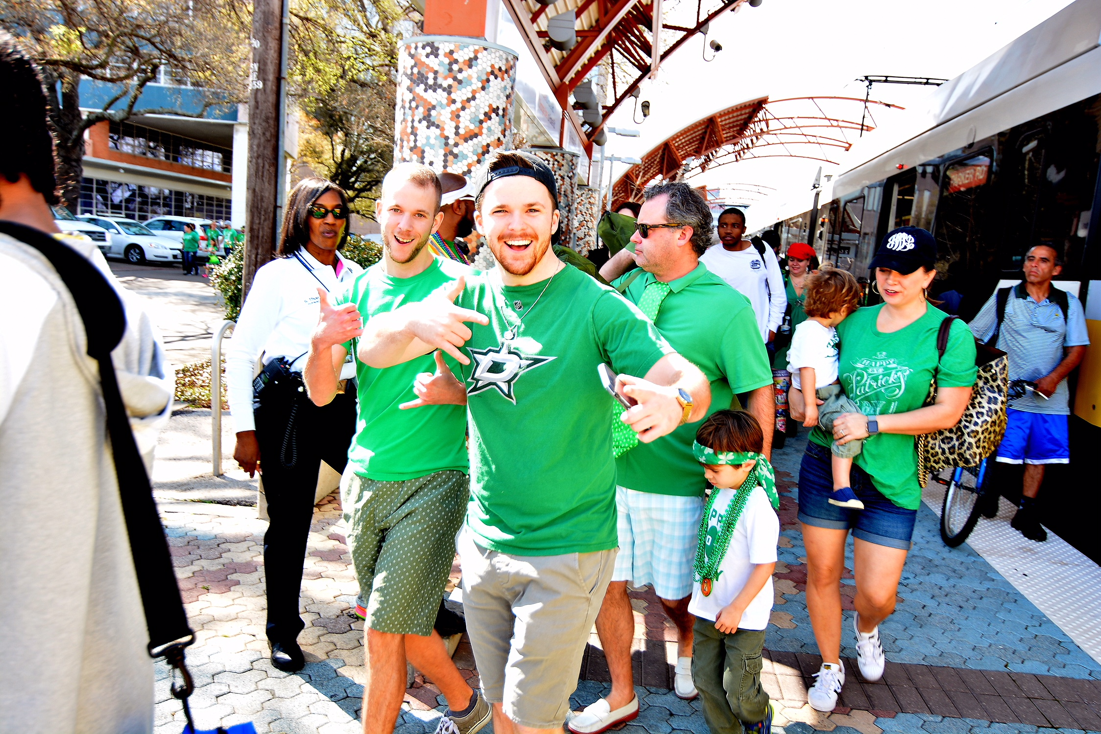 7b92d7ace Six Tips About Riding DART to the Dallas St. Patrick's Parade & Festival