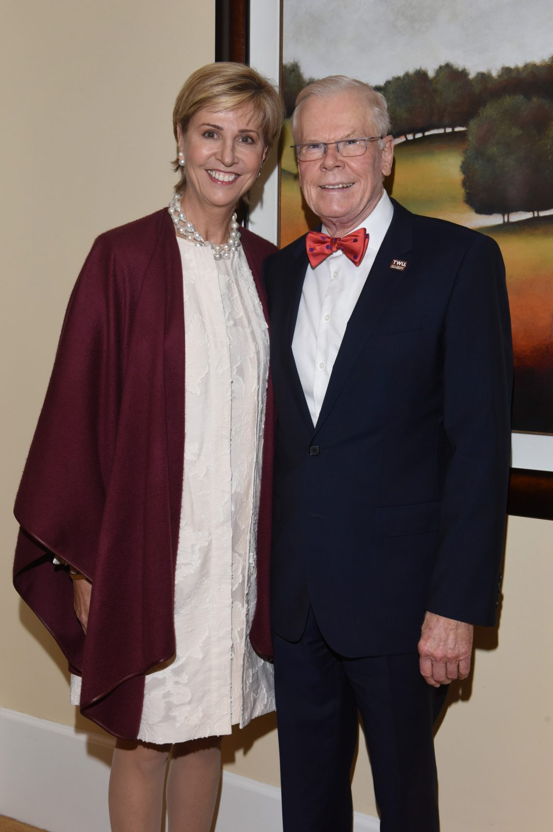TEXAS WOMAN'S UNIVERSITY HONORS NORMAN P. BAGWELL WITH 16TH ANNUAL VIRGINIA CHANDLER DYKES LEADERSHIP AWARD
