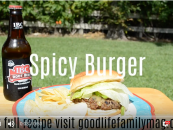 Father's Day Spicy Burgers