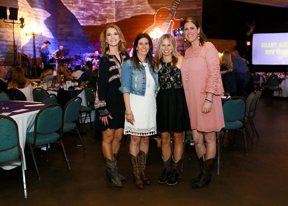 Ally's Wish Co-Founders Holly Reed, Melissa Cary, Missy Phipps, Heather Reed