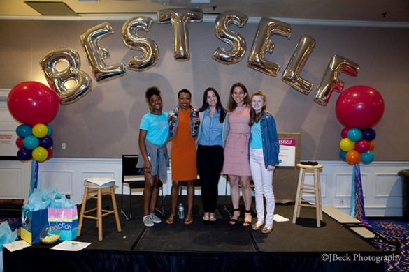 Kennedy Beasley, Tiffany Dufu, Alicia Menendez, Rachel Simmons, Francesca Gilbard